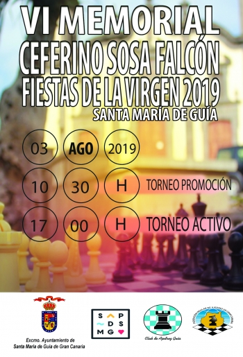 Convocatoria del VI Memorial Ceferino Sosa Falcón